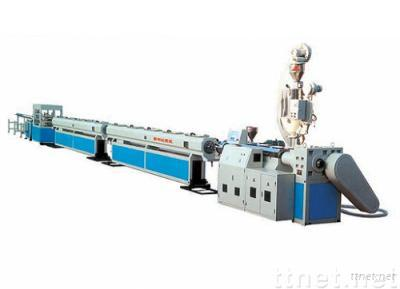Cold and hot water feeling pipe PE PP PP-R material production line