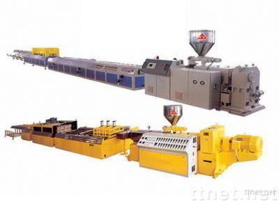PVC Wood-plastic Co-extrusion Foamed Wide Door Plate Production Line