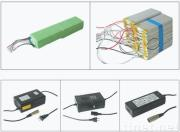 Electric motor car lithium ion polymer battery