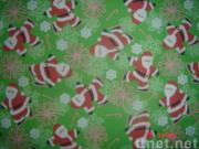 cotton flannel printed and dyed fabric