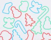 Christmans silly band, funny band