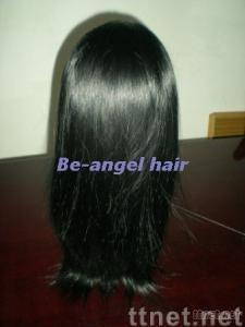 Silky straight full lace wigs