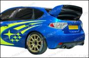 Subaru/Impreza/WRX 10th two tiers spoiler 2008,CR-WRC style