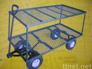 two deck large garden cart
