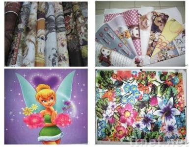 Sublimation transfer printing paper