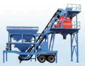 YHZS50 mobile concrete mixing plant