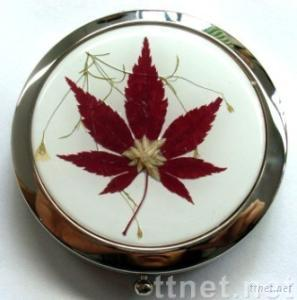 Makeup Mirrors With Natural Flower