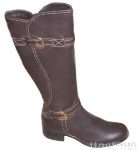 ladies' casual shoes-genuine leather boots