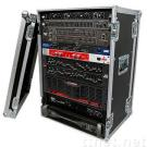 Amplifier Rack Cases (16U Slant Mixer) With Caster Kit