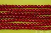 Round Coral Beads