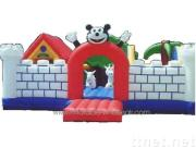 ybou716 animal village inflatable bouncer