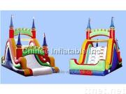 ysli049 bridge inflatable slides