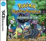 DS DSI game card:Pokemon Mystery Dungeon - Explorers Of Time DS Games