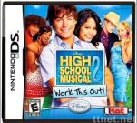 DS DSI game card:High School Musical 2 - Work This Out DS Games