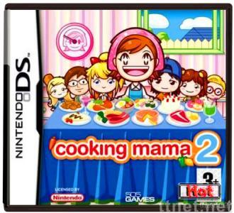 DS DSI game card:Cooking Mama DS Games, DS DSI games Cooking