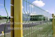 fence with curve