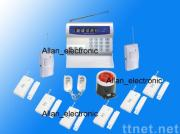 Newest color LCD display GSM alarm system