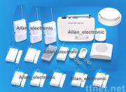 Wireless and wired home security gsm alarm system