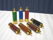 EQUINOXE RCA PLUGS (LEATHER)