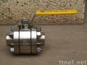 3pc high pressure forged ball valve