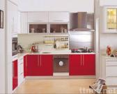 Kitchen Cabinet (MDF RED LACQUER)