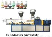 Co-rotating Parallel Twin Screw Plastic Extruder