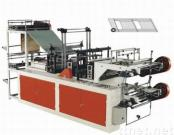 microcomputer control high-speed contunuous-rolled vest bag-making machine