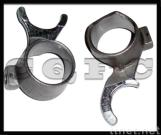 DX100, YB100 motorcycle gear forks