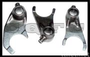 6 shifting motorcycle gear forks (LX)