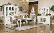 Oak wood dining room furniture