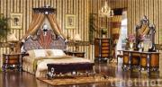 Cherry wood bedroom sets&bed