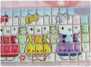 Hello kitty keyboard sticker