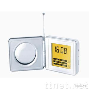 LUXD16--Touch-Screen Clock Radio with Digital Tuning and NXT Flat Panel Speaker