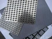 aluminum perforated sheet/punched hole mesh