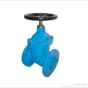 Non-rising stem sofe-sealing gate valve