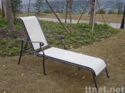 Sling recliner, lounge chair, chaise longue