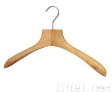 Deluxe Wooden Coat Hanger