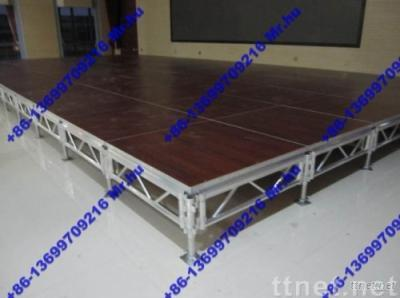 Aluminium Mobile & Removable Stage