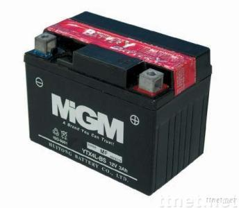 MF Motorcycle Battery YTX4L-BS