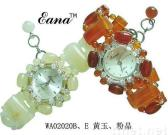 topaz,red agate watches,semiprecious stone,novelty gifts