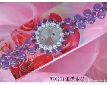 amethyst crystal watches,bracelet watches,novelty accessory
