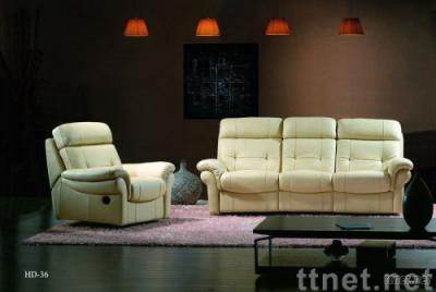 China factory dirctly sell Top leather sofa HD36