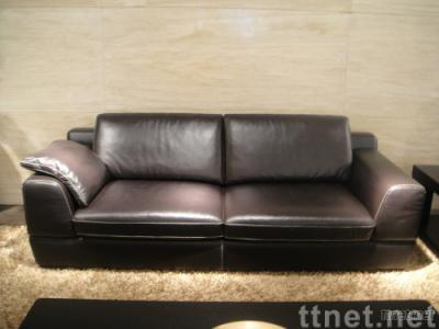 Leather sofa [ Italian style,high-end,top quality,design furniture,living room furniture]