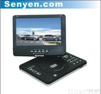 10.2 inch portable DVD with DVB-T