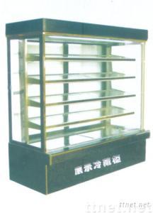 commercial display freezer  for restaurant