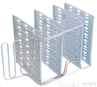 tube on plate refrigeration evaporator