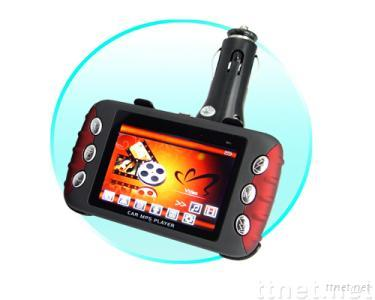 MP4 + MP3 Player with Deluxe Car Adapter Kit (4GB)
