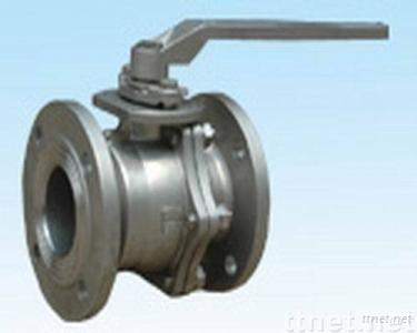 Two-type flange ball valve