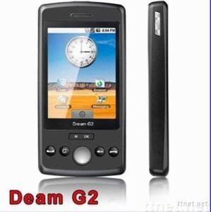 Dream G2,GSM Mobile phone with 2.8-inch QVGA Touchscreen and Supports WIFI and JAVA