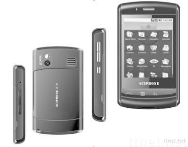 sciphone N19,android OS smart phone,with 2.8 inch QVGA touchscreen and samsung 400mhz CPU,2.0M camera,wifi
